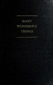 Cover of: Many wonderful things | Robert W. Huffman