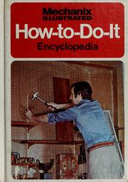 Cover of: Mechanix Illustrated How-to-do-it Encyclopedia |