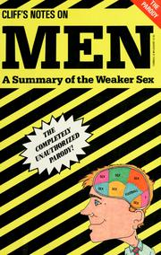 Cover of: Men, a summary of the weaker sex | Tom Carey
