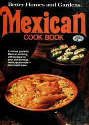 Cover of: Better homes and gardens Mexican cook book. |