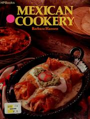 Cover of: Mexican cookery | Barbara Joan Hansen