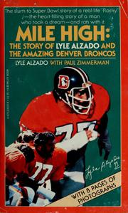 Cover of: Mile high | Lyle Alzado