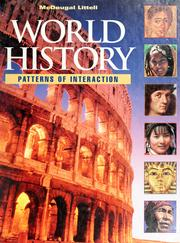 Cover of: McDougal Littell world history: patterns of interaction