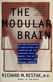 Cover of: The modular brain | Richard M. Restak