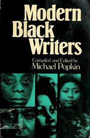 Cover of: Modern black writers | compiled and edited by Michael Popkin.