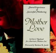 Cover of: Mother love | Ester Rasband