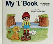 "Cover of: My ""l"" book 