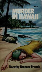 Cover of: Murder in Hawaii | Dorothy Brenner Francis