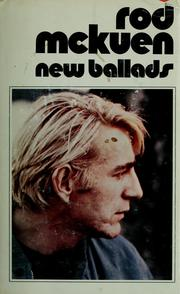 Cover of: New ballads | Rod McKuen
