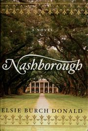 Cover of: Nashborough | Elsie Burch Donald