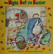 Cover of: The night before Easter | Natasha Wing