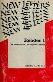 Cover of: New letters reader I | Ray, David