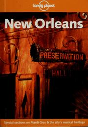 Cover of: New Orleans by Tom Downs