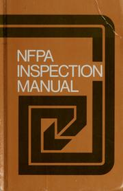 Cover of: NFPA inspection manual | National Fire Protection Association