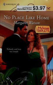 Cover of: No place like home | Margaret Watson