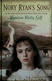 Cover of: Nory Ryan's song by Patricia Reilly Giff