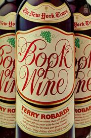 Cover of: The New York times book of wine | Terry Robards