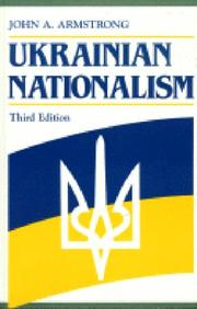 Cover of: Ukrainian nationalism