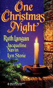 Cover of: One Christmas Night | Ruth Langan