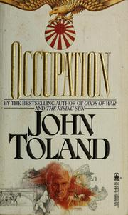 Cover of: Occupation | John Willard Toland