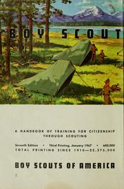 Cover of: Boy Scout Handbook | Boy Scouts of America