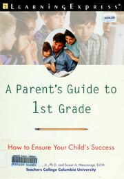 Cover of: A parent's guide to 1st grade