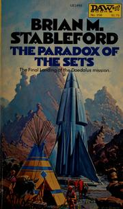 Cover of: The paradox of the sets | Brian Stableford