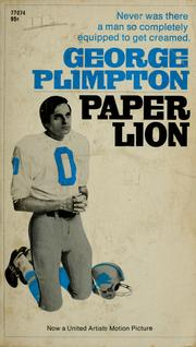 paper lion open library