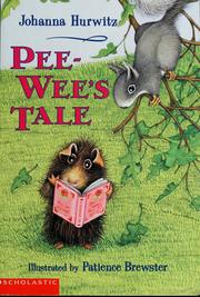 Cover of: Pee Wee's tale | Johanna Hurwitz