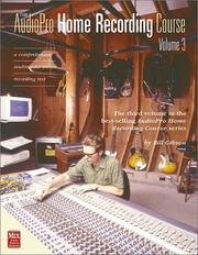Cover of: The AudioPro Home Recording Course Vol. III