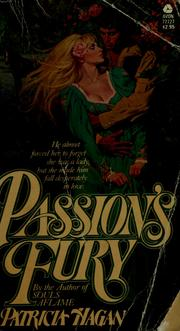Cover of: Passion's fury | Patricia Hagan