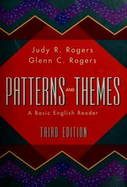Cover of: Patterns and themes | [compiled by] Judy R. Rogers, Glenn C. Rogers.