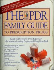 Cover of: The PDR family guide | David W. Sifton