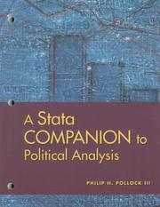 Cover of: A Stata Companion to Political Analysis
