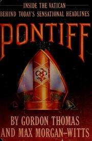 Cover of: Pontiff | Gordon Thomas