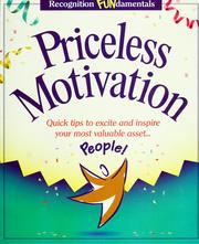 Cover of: Priceless motivation |