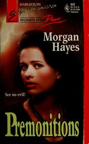 Cover of: Premonitions | Morgan Hayes