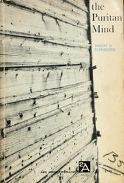 Cover of: The Puritan mind. by Herbert Wallace Schneider