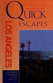 Cover of: Quick escapes Los Angeles | Eleanor Harris