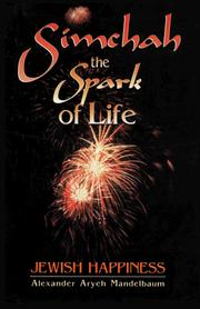Cover of: Simchah--The Spark of Life