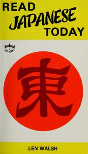 Read Japanese today.