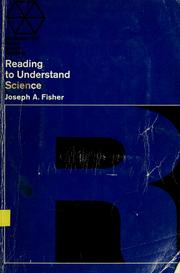 Cover of: Reading to understand science | Joseph A. Fisher