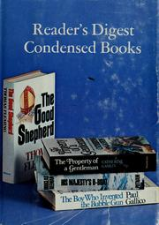 Cover of: Reader's digest condensed books | Paul Gallico