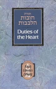 Cover of: Duties of the Heart (2-Volume Set)