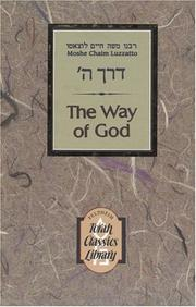 Cover of: Way of G-d