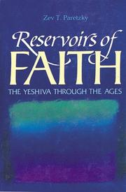 Cover of: Reservoirs of Faith | Zev T. Paretzky