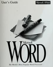 Cover of: Microsoft Word | Microsoft Corporation