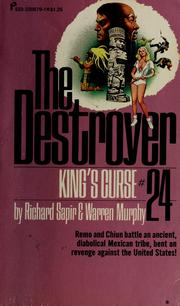 Cover of: The destroyer [no.] 24 | Warren Murphy