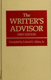Cover of: The Writer