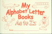 Cover of: My alphabet letter books, Aa to Zz |